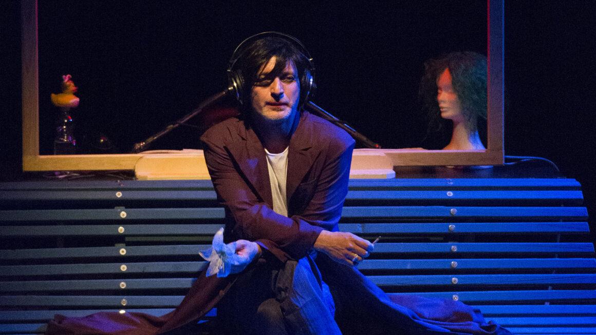 Roberto Latini in Cantico dei cantici